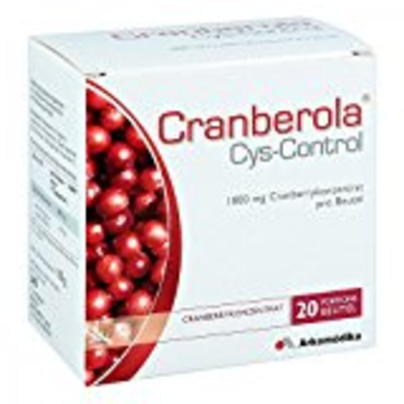 Orthoexpert Cranberola Cys-Control Pulver 20 Beutel x 5 g
