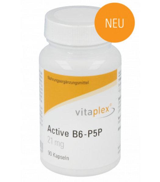 Vitaplex Active B6-P5P 90 vegetarische Kapseln