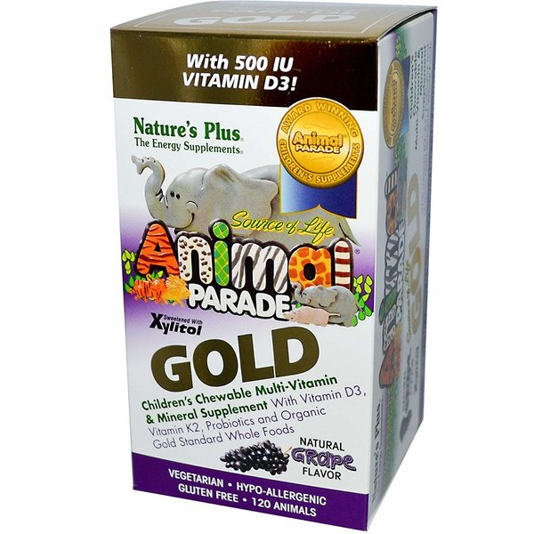 Animal Parade Gold Multivitamin 120 Lutschtabletten