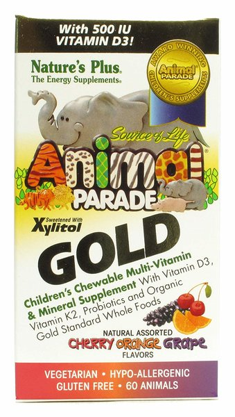 Animal Parade Gold Multivitamine 60 Lutschtabletten