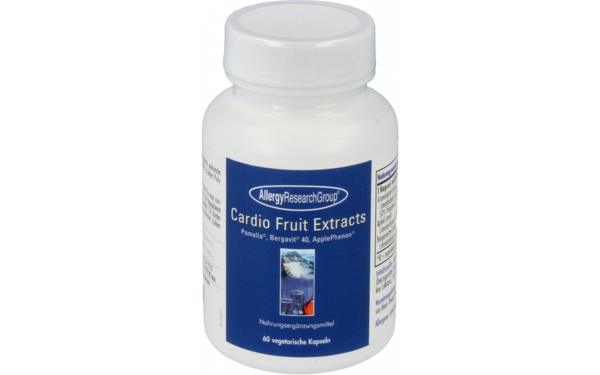 Allergy Research Group Cardio Fruit Extracts 60 vegetarische Kapseln