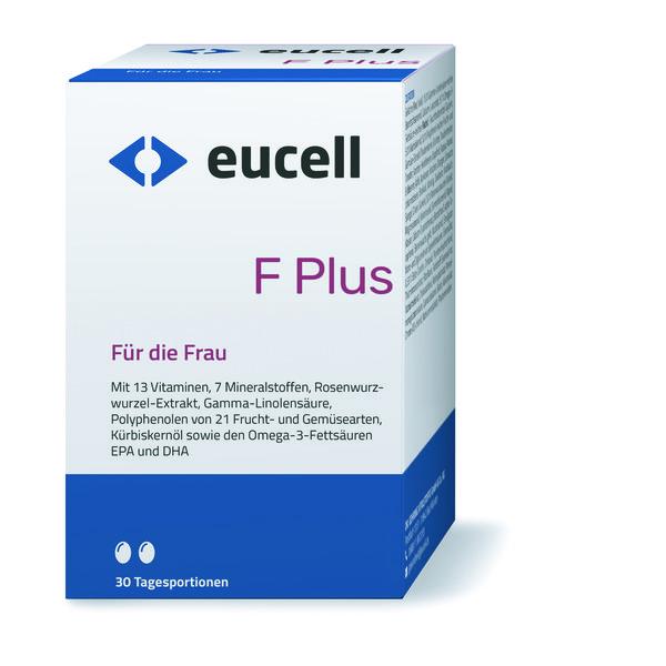 EUCELL F Plus 60 Kapseln