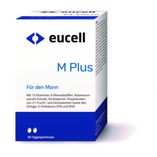 EUCELL M Plus 60 Kapseln