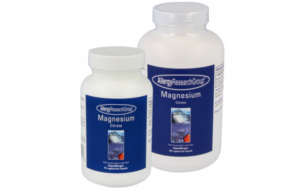 Allergy Research Group Magnesium Citrate 170 mg Kapseln