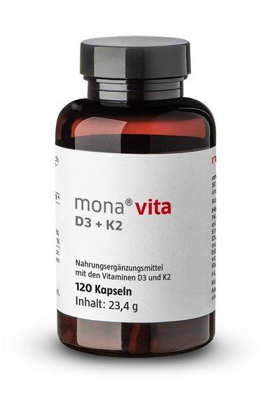 mona® vita D3 + K2 120 Kapseln